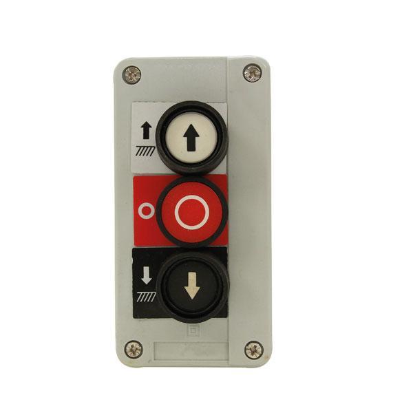 Control box 3-button HACO