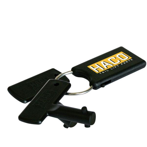 Set keys battery switch new model HACO
