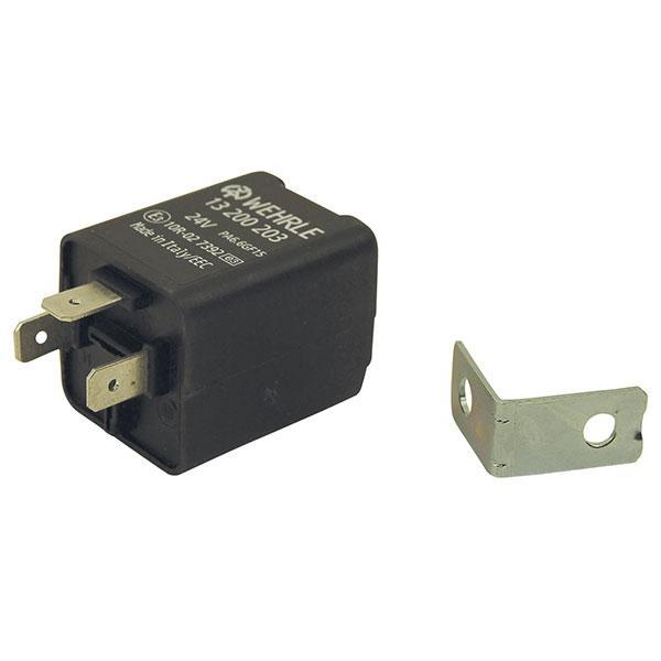 Blinkrelä 24V 3-pins Wehrle