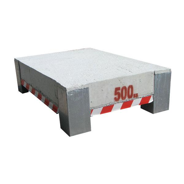 Test weight 500kg HACO