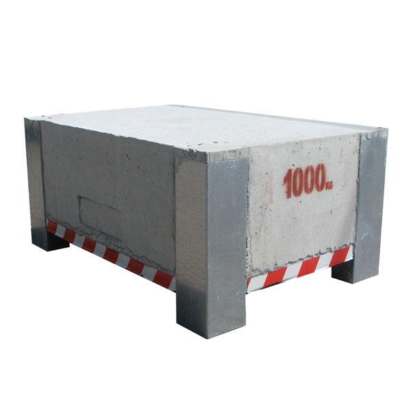 Test weight 1000kg HACO