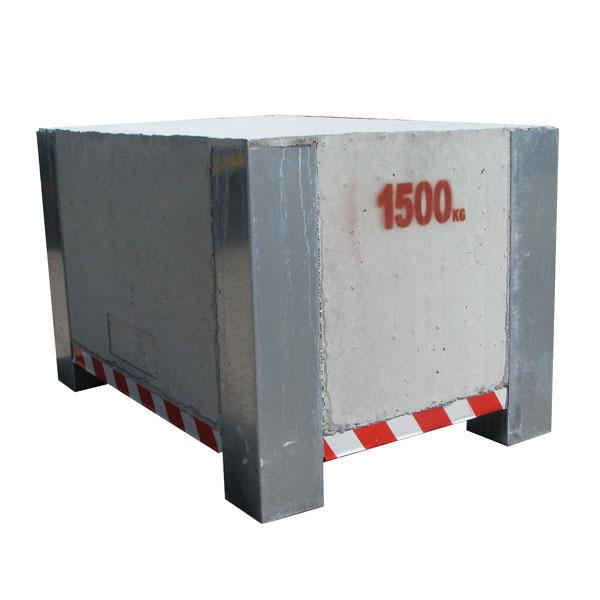 Test weight 1500kg HACO