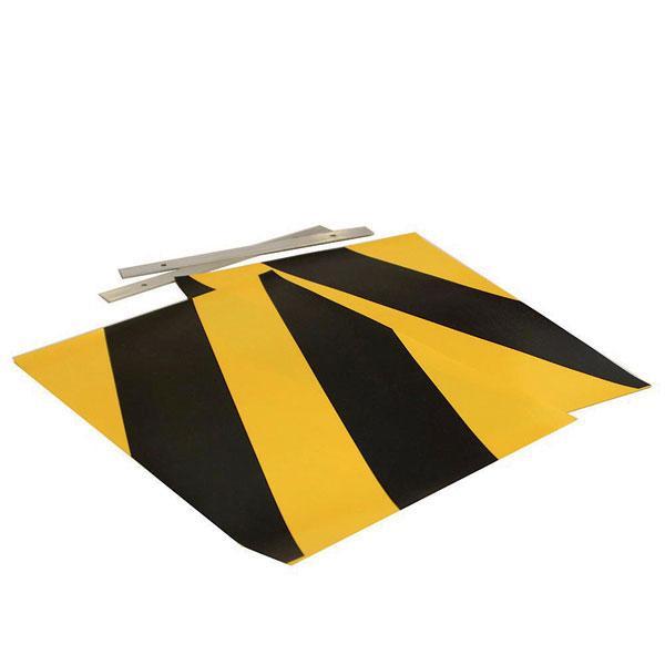 Set flags yellow/black HACO