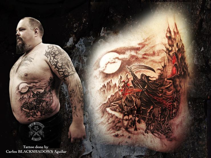 Black Shadows tatueringsvinnare