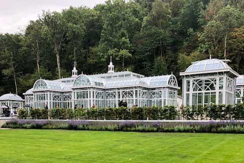 Norrvikens nya växthus