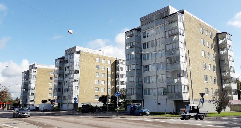 Höghusen Älmhult, VVS Kompaniet