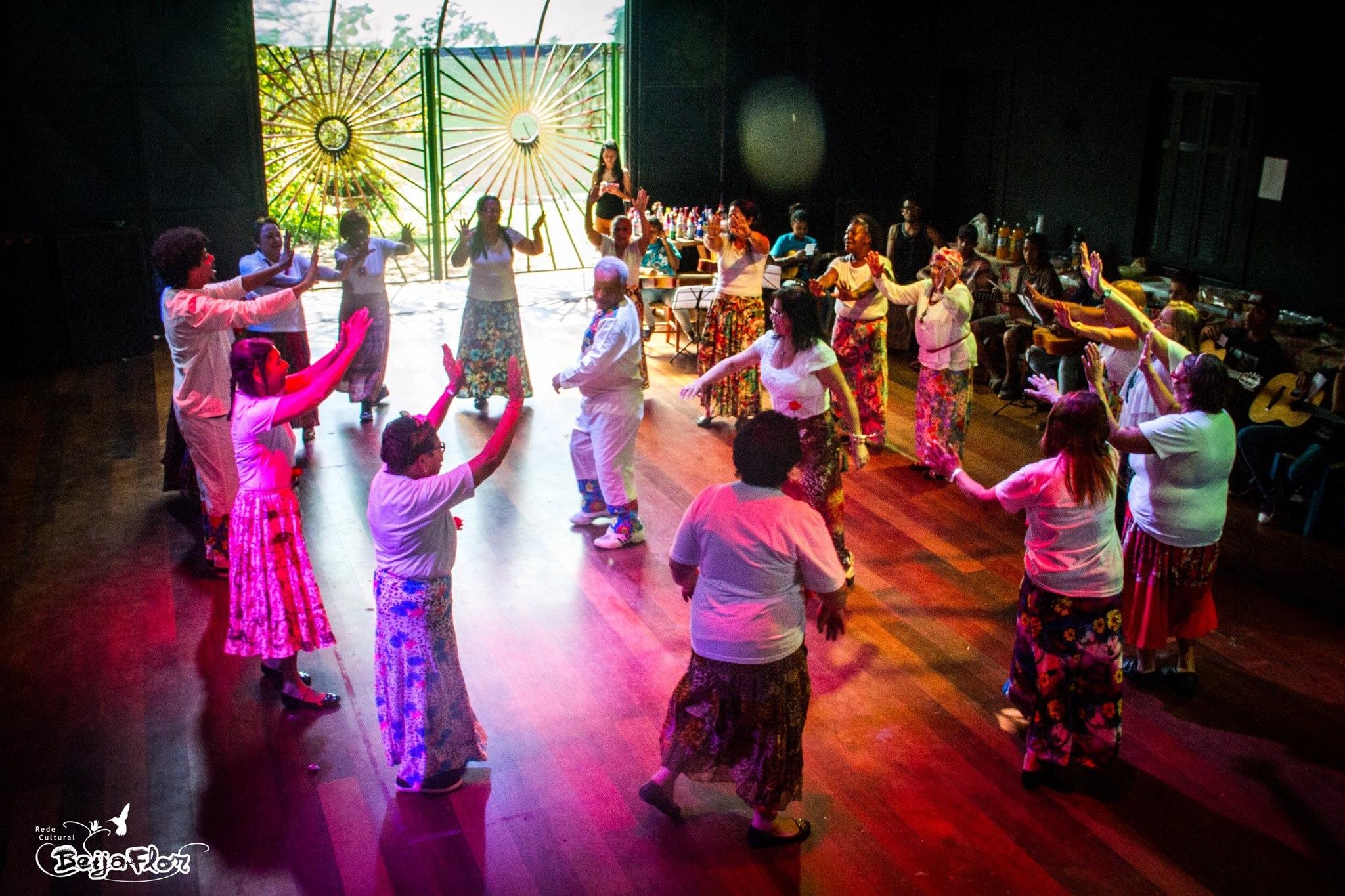 Dansen presentert av pensjonister