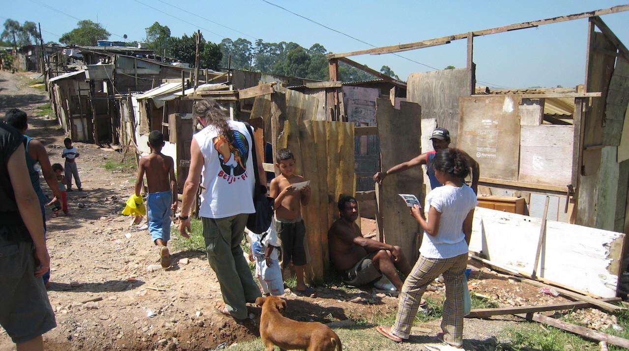 Dette er gate tre i Sitio Joaninha