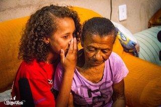 Maria Thaina og bestemor