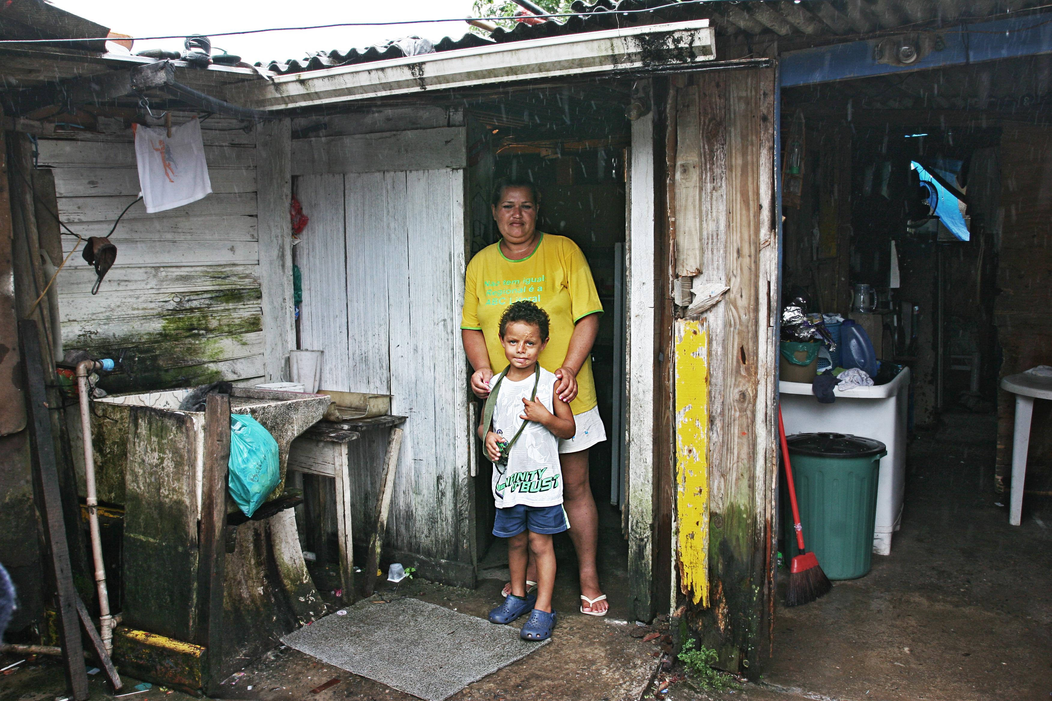 Husene/skurene kan være svært små og i dårlig stand.