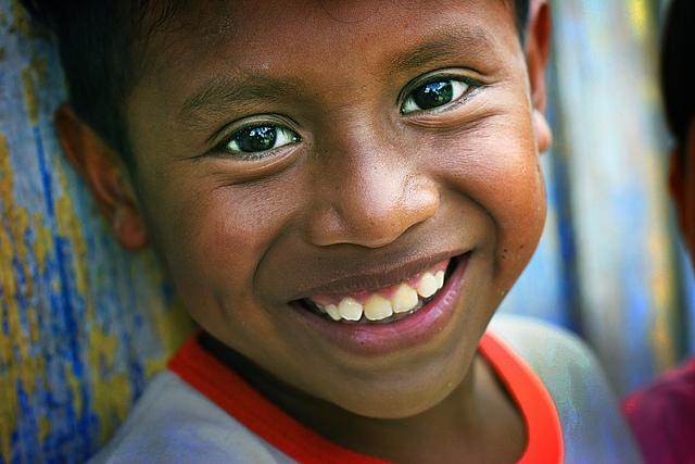 Et smil av håp