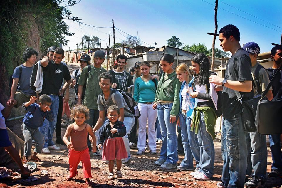 Unge sosial-entreprenører i Sitio Joaninha.