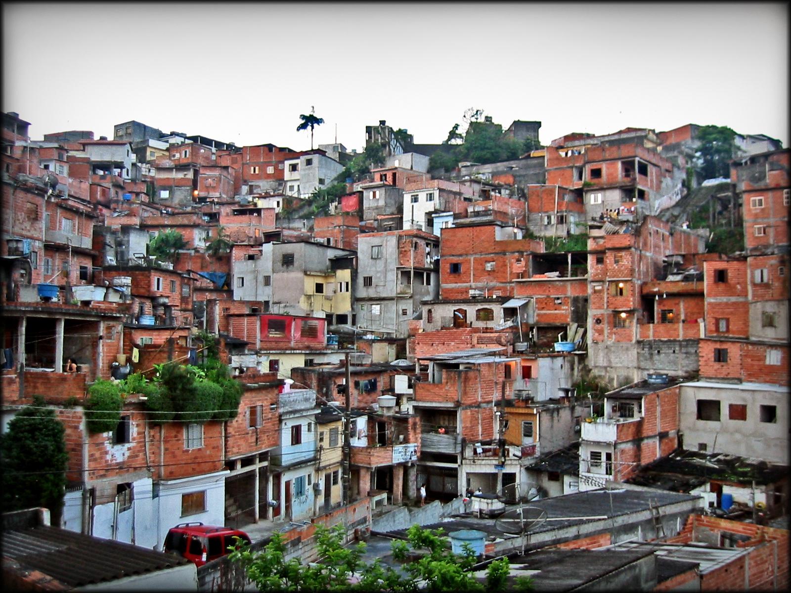 Favela I Brasil(bilde fra boken)