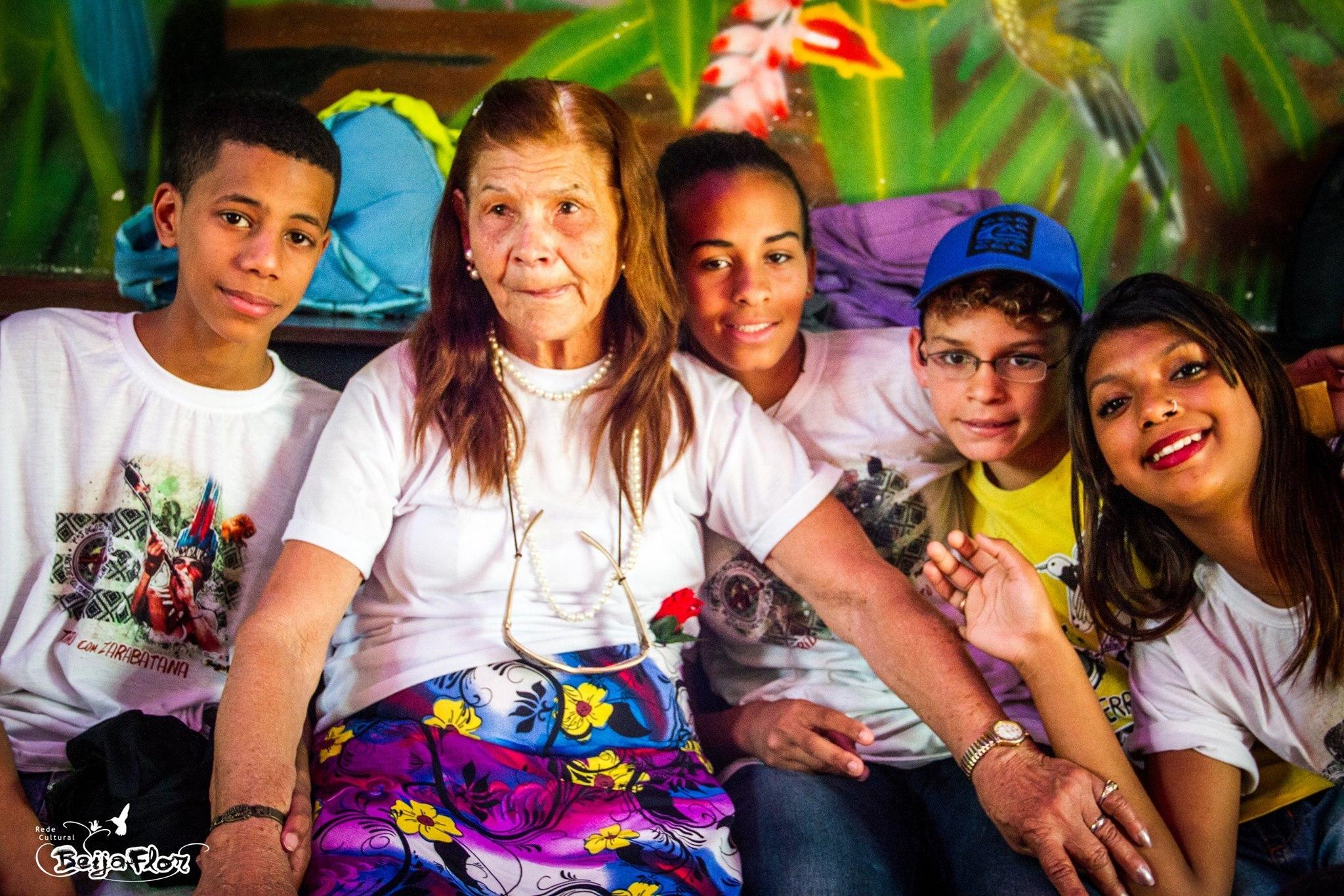 Ana 73 år med barn