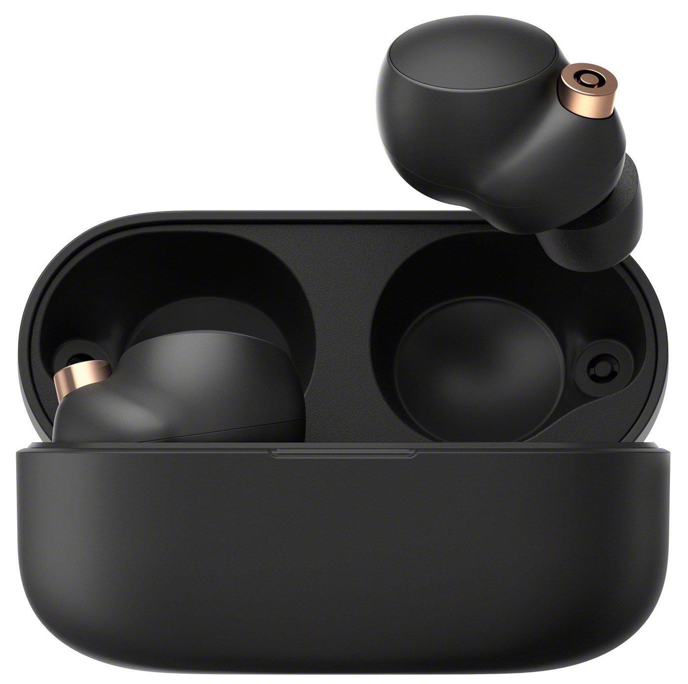 Magneter sørger for at holde headsettet på plads i æsken, når det lægges til opladning.