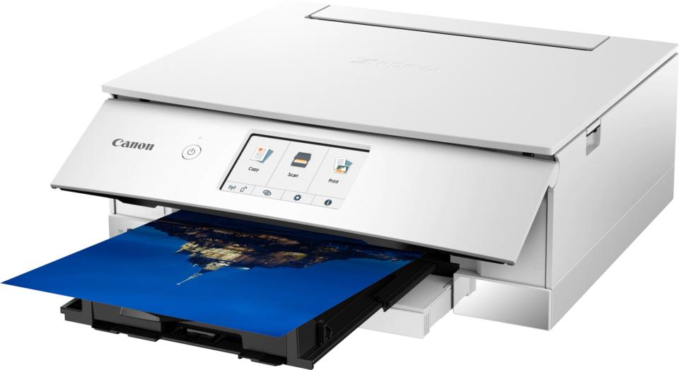 Alle hovedfunktionerne er kun et enkelt tryk væk i printerens menu.