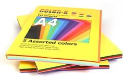 בריסטול פוליו (A4) צבעוני חבילה