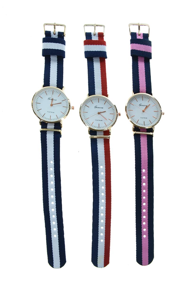 שעון יד רצועת בד ZD268