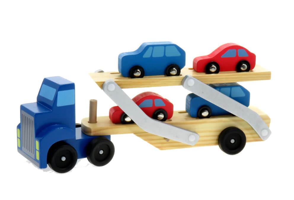 מוביל מכוניות עץ ZE226