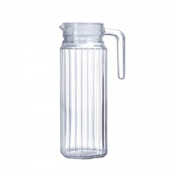 כד מים זכוכית פסים 1.1 ל