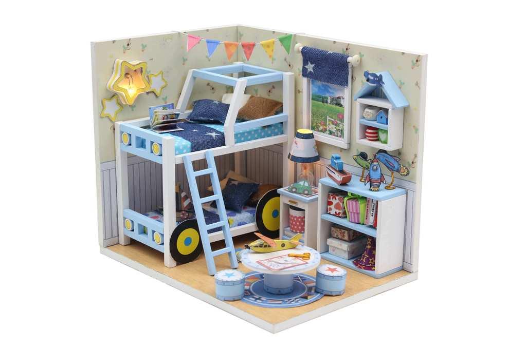 מיניאטורה חדר ילדים כוכבים M019