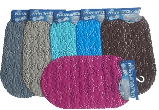שטיח אמבטיה אובלי בועות