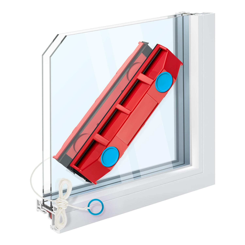 רב מגב מגנטי לחלונות כפולים