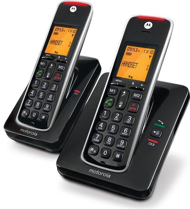 טלפון מוטורולה עברית זוג