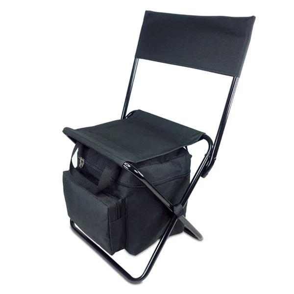 כסא מתקפל משענת + צידנית