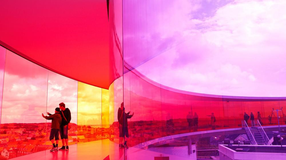 Olafur Eliasson - Your Rainbow Panorama. Courtesy: Aros Aarhus Art Museum