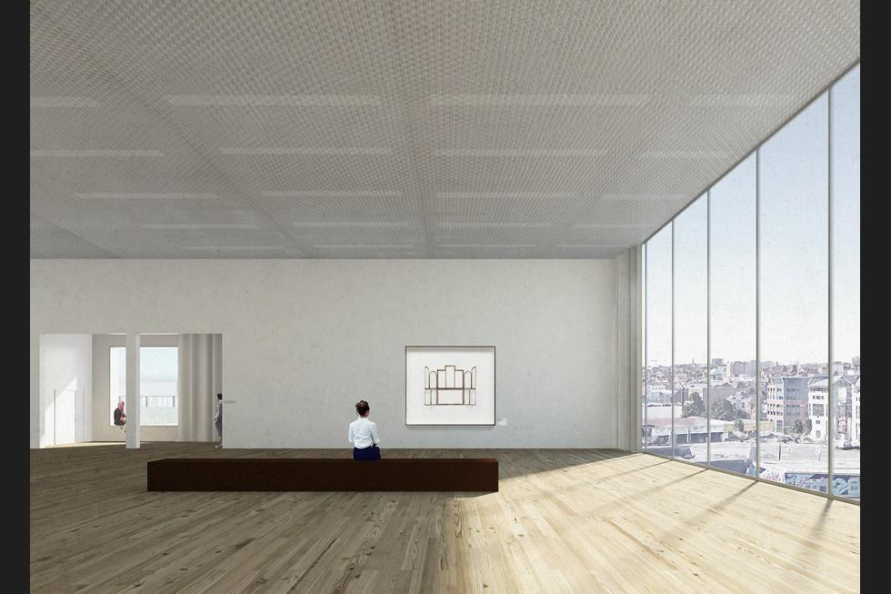 Modern and Contemporary Art, CIVA (International Centre for the City and the Architecture), Brussels, rendering.