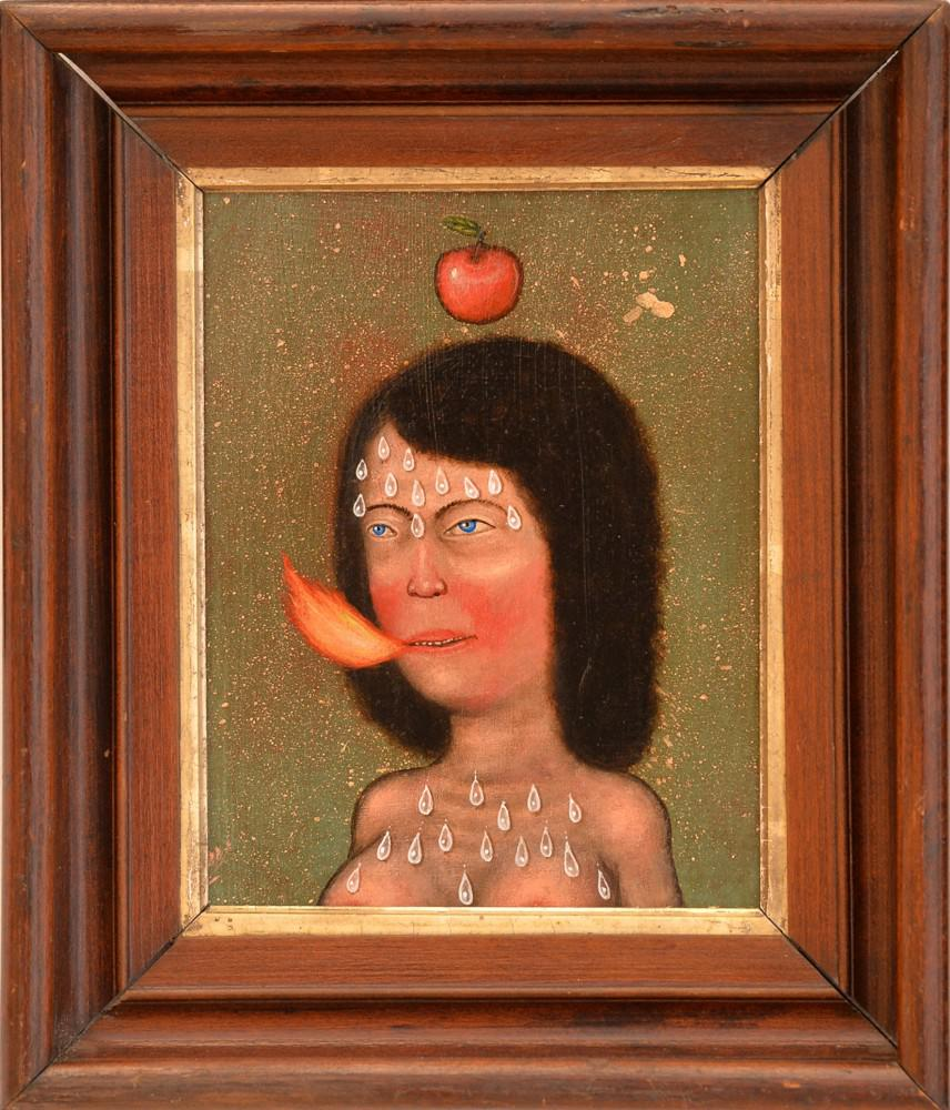 Apple, Fred Stonehouse. Courtesy: Galleria Antonio Colombo and Artist
