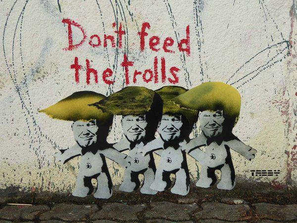 Don't Feed The Trolls - Tabby. Courtesy of the artist
