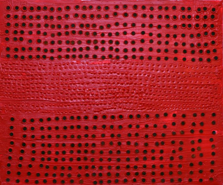 Moran Fisher, Red dots, 2012