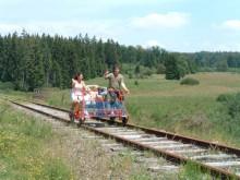 De Belgische Ardennen per railbike en kano