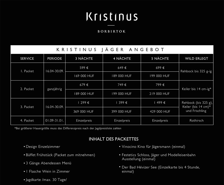 Kristinus vadasz csomag ajanlat 210x288 nemet 2.0