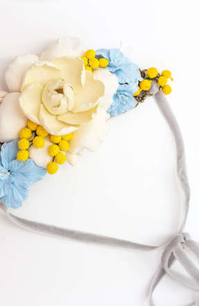 Necklace  forget me not