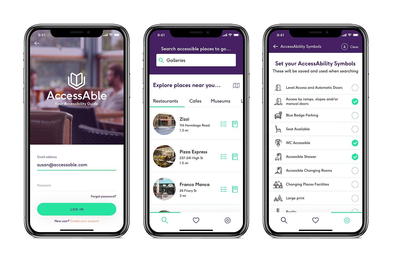 AccessAble Mobile App