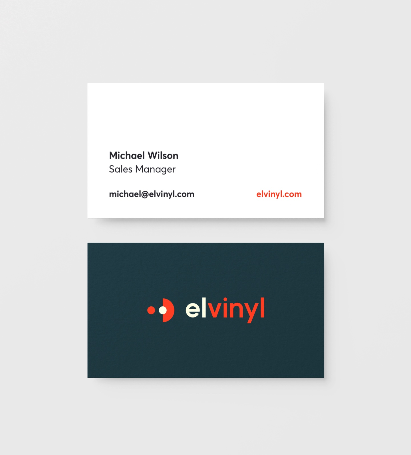 elvinyl business cards
