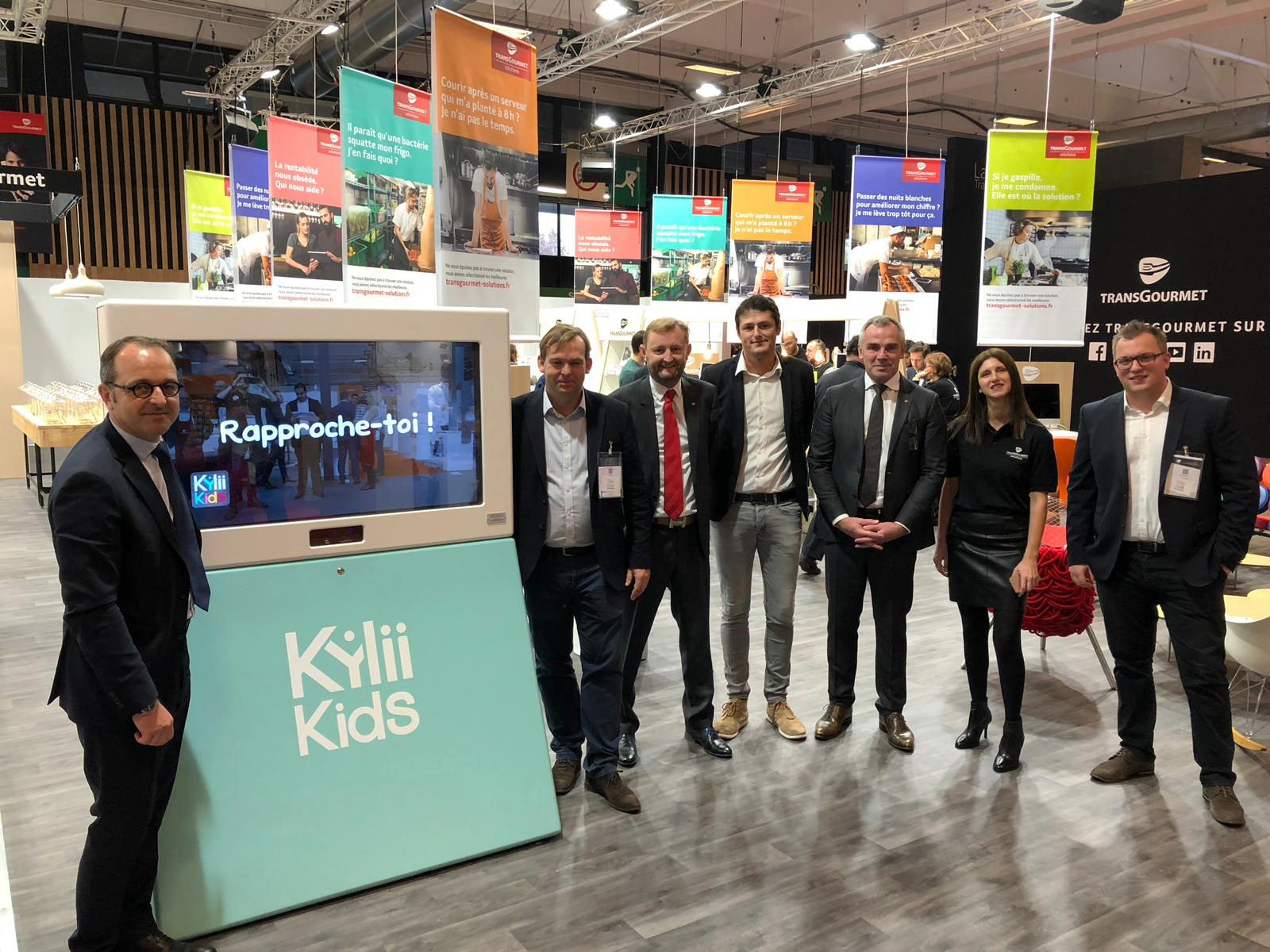 Partnership signed between Transgourmet and Kylii Kids