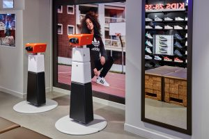 Virtual reality at Foot Locker Milano
