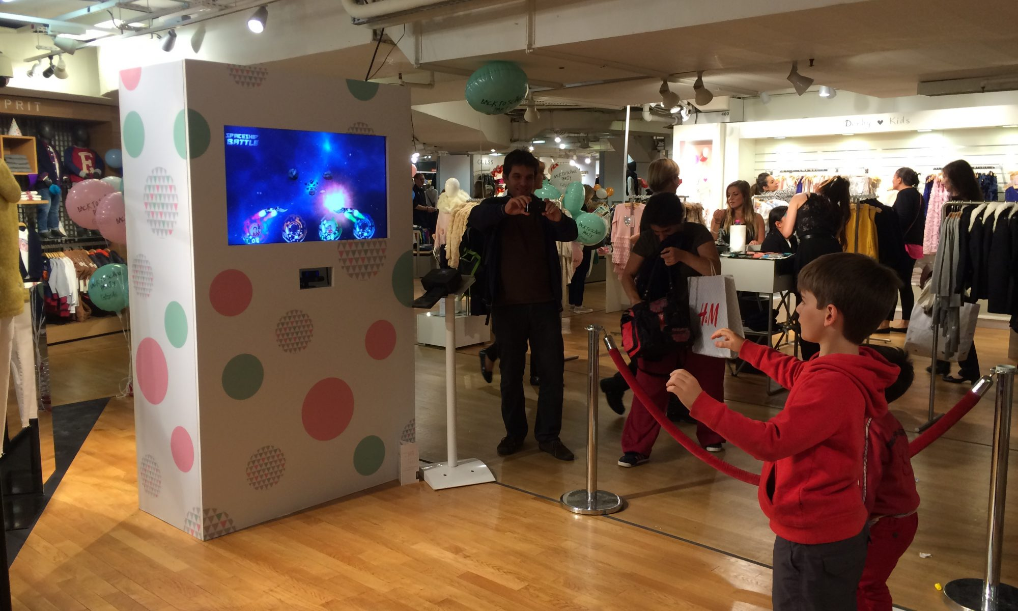 Back to School Party digitale aux Galeries Lafayette