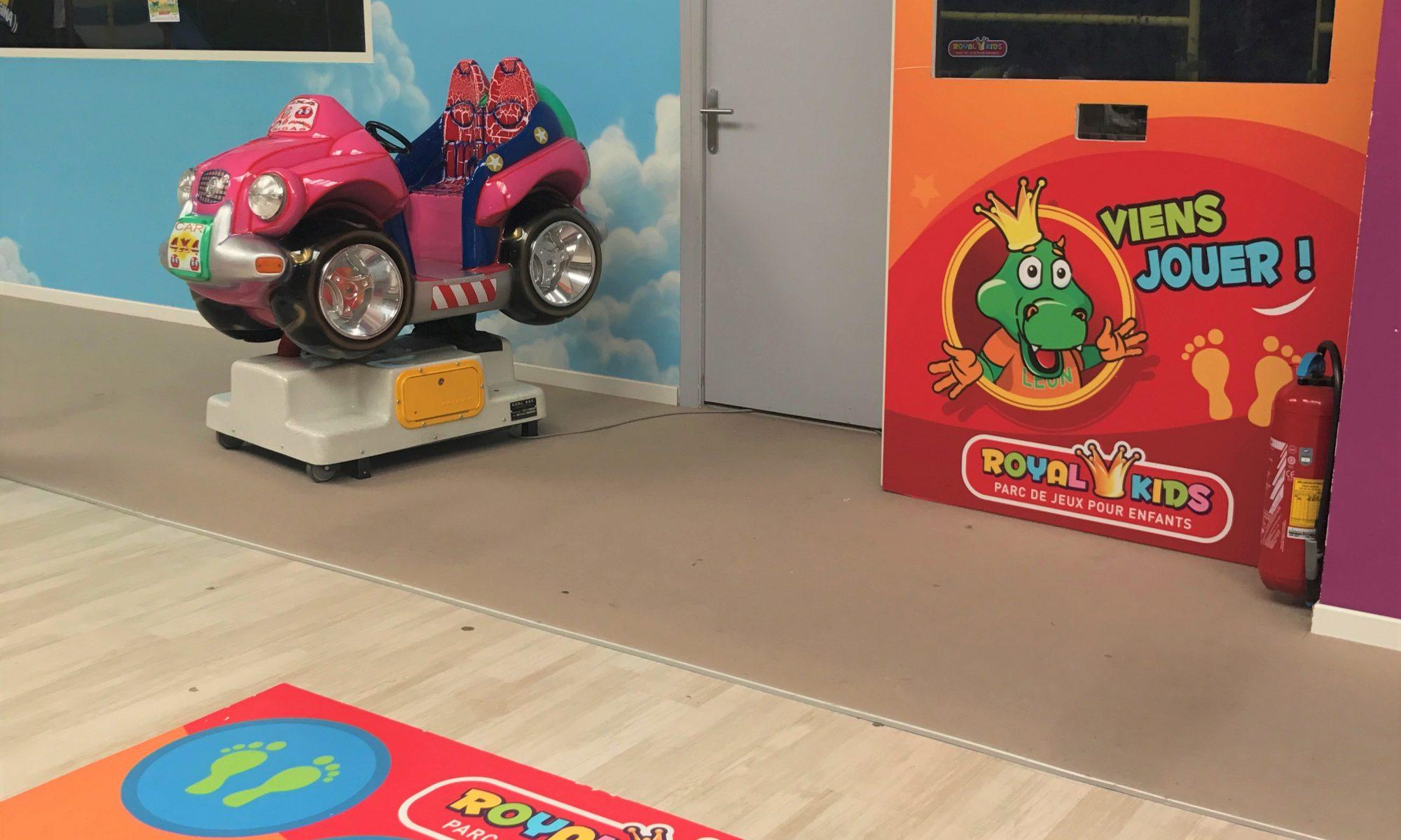 Réalité augmentée chez Royal Kids à Amiens et Pau-Lescar