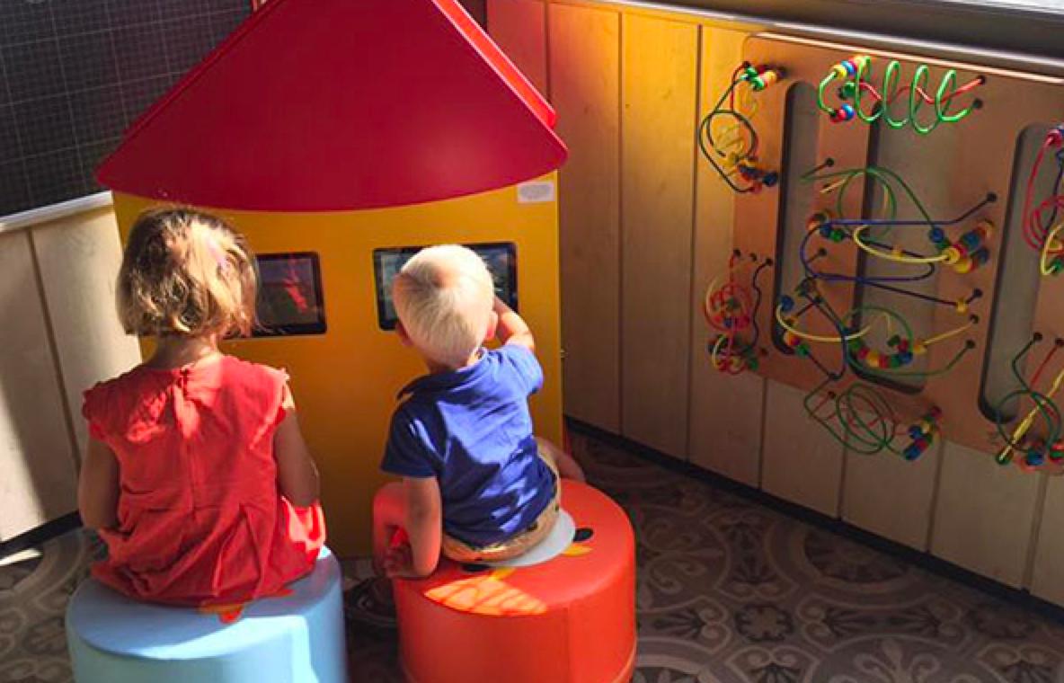 Le village Paillou chez Courtepaille : un espace enfant digital signé Courtepaille