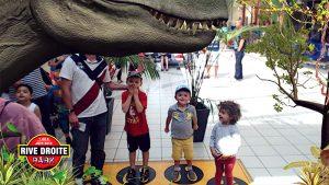 Des dinosaures en réalité augmentée s'invitent à Rive Droite !