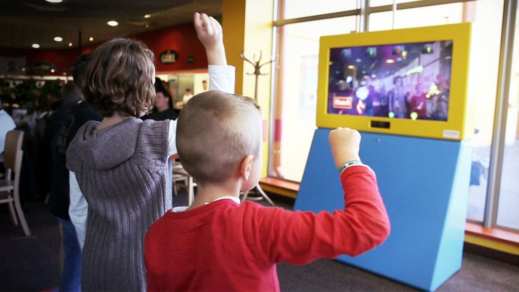 Réalité augmentée pour les enfants dans les restaurants Flunch avec Kylii Kids