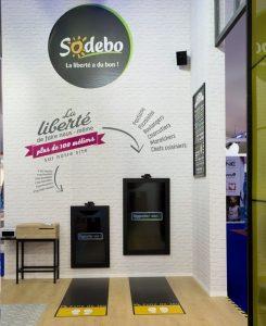 Installation de réalité augmentée Kylii Kids pour Sodebo au Vendée Globe