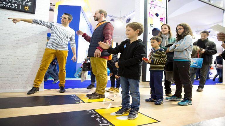 Juegos interactivos para niños en Flunch