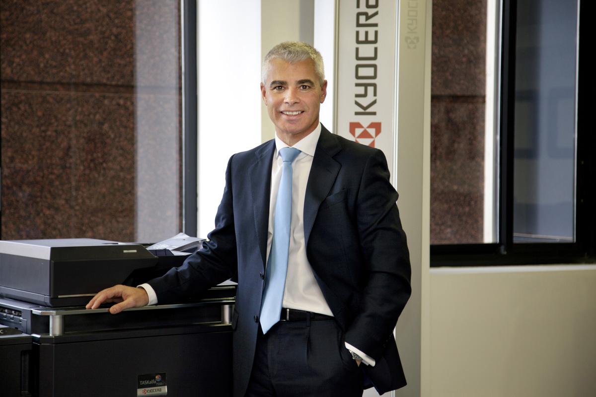 Óscar Sánchez, nuevo vicepresidente ejecutivo de KYOCERA Document Solutions Europe