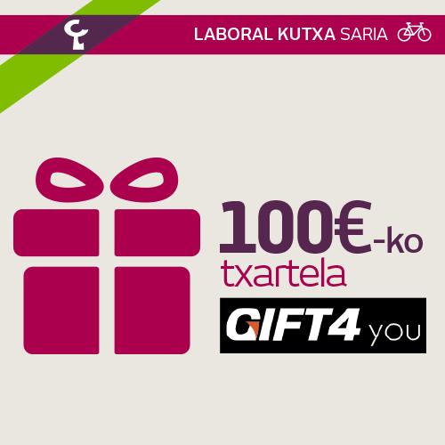 100 € GIFT4you-n trukatzeko